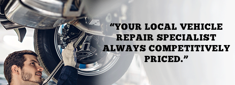 Image showing a car mechanic repairing a car
