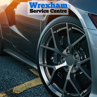 image of sports car wheel