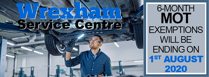 6-Month MOT Exemptions Will Be Ending On 1 August