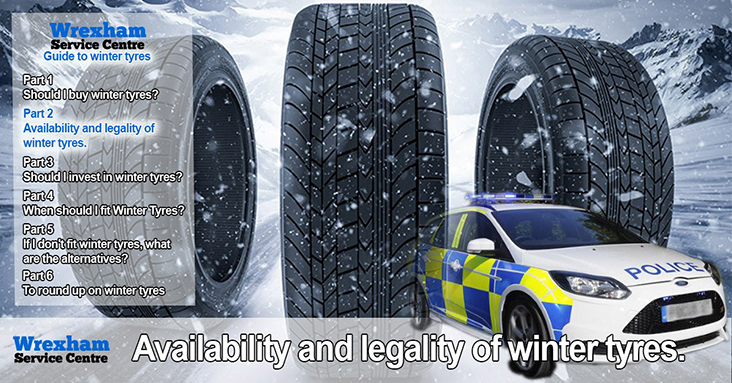 What's What With Winter Tyres – Part 2 – Availability And Legality Of Winter Tyres