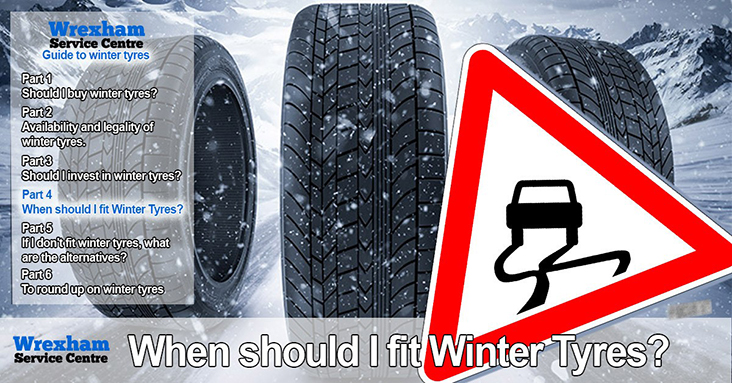 What's What With Winter Tyres – Part 4 – When <br> Should I Fit Winter Tyres?