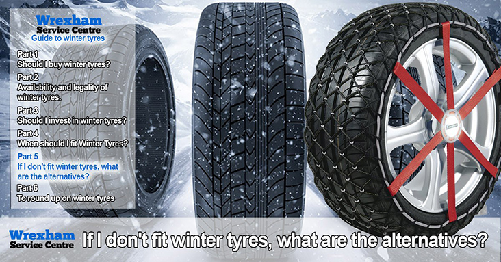 What's What With Winter Tyres – Part 5 – If I Don't <br>Fit Winter Tyres, What Are The Alternatives?